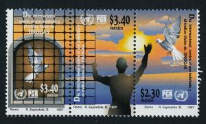 Mexico 2037 MNH Dove, Day to Stop use of Illegal Drugs
