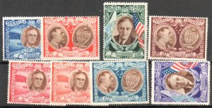 San Marino Scott #C51A - #C51H Complete Set of 8 Mint never Hinged
