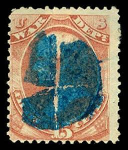 U.S. OFFICIALS O90  Used (ID # 59217)
