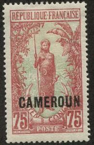 Cameroun, Scott #160, Unused, Hinged