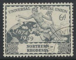 Northern Rhodesia  SG 52 SC# 52 Used see detail and scan