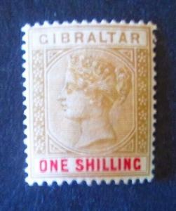 Gibraltar #21 Mint Hinged- (AZ7) WDWPhilatelic!