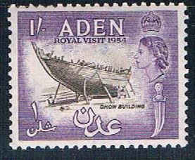 Aden Boat 1 - pickastamp (AP1R303)
