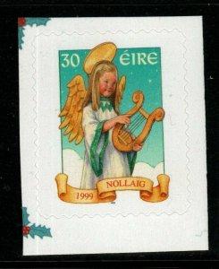 IRELAND SG1282 1999 CHRISTMAS SELF ADHESIVE MNH