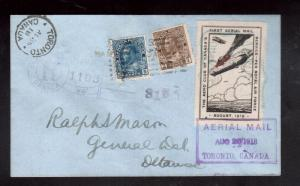 Canada #CLP1 Extra Fine Used With #108 #111 On Registered Cover **With Cert.**