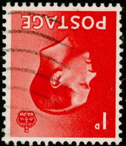 SG458Wi, 1d scarlet, FINE USED. WMK INV