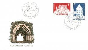 Luxembourg 678-679 U/A FDC
