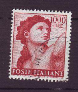 J22644 Jlstamps 1961 italy hv of set used #831 eve