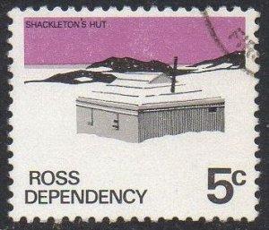 Ross Dependency 1972 5c Shackleton's Hut used