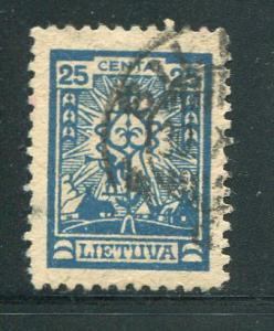 Lithuania #193 Used