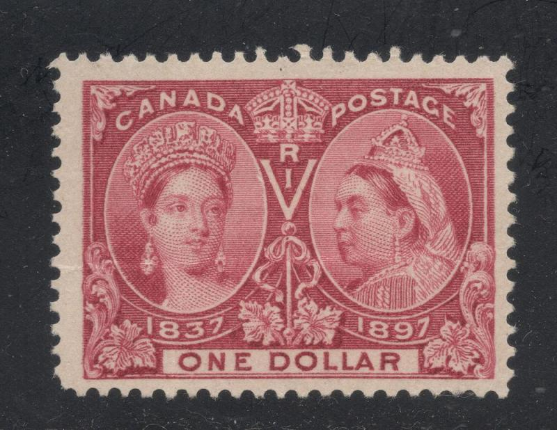 Canada #61 Lake - One Dollar - Unused