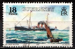 Guernsey 1989 SG. 464 used (10825)