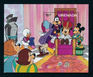 [22513] Grenada 1985 Disney Mark Twain, scene The Prince and the Pauper MNH