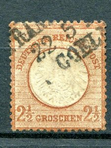 Germany #19  Used very well centered   - Lakeshore Philatelics