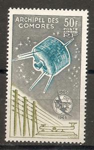 Comoro Islands C14 1965 100th ITU MNH