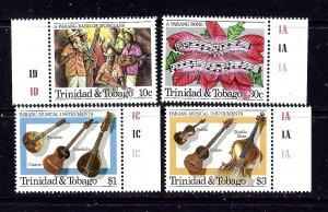 Trinidad and Tobago 419-22 MNH 1984 Christmas