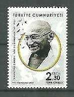 Turkey 2019 150th Anniversary Mahatma Gandhi birthdate 1v MNH