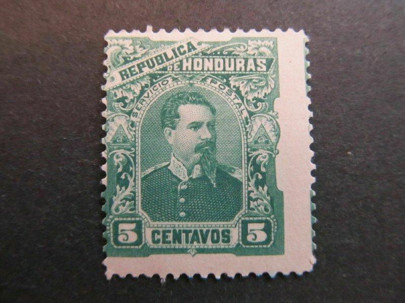 A4P11F5 Honduras 1891 5c mh*