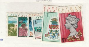 CAYMAN ISLANDS (MK6655) # 219-224  VF-MH  VARsh,£1  1969 LANDMARK DESIGNS