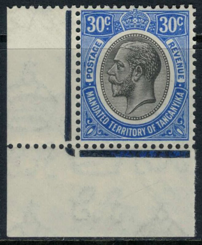 Tanganyika #35* NH  CV $29.00