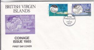 1985, Br. Virgin Islands: Coinage, FDC(S18806)