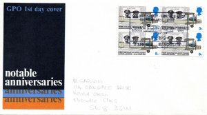 1969 Sg 791 5d First None Stop Transatlantic Flight Manchester First Day Cover