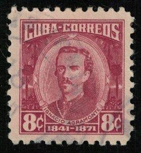 Ignacio Agramonte, 8 cents, Cuba (Т-6110)