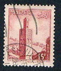 French Morocco 320 Used Minaret (BP14119)