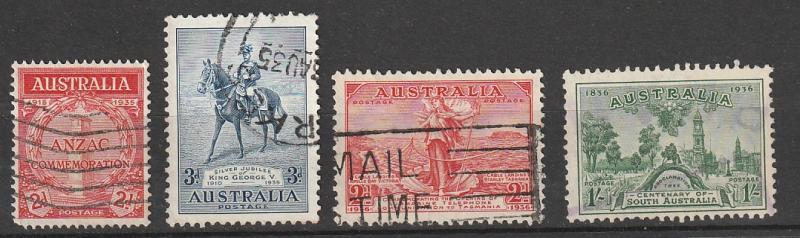 #150,153,157,161 Australia Used