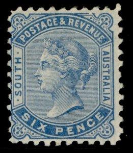 AUSTRALIA - South Australia QV SG185, 6d pale blue, M MINT. Cat £75.