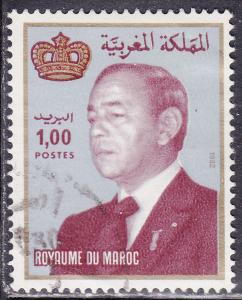 Morocco 520 King Hassan II 1983