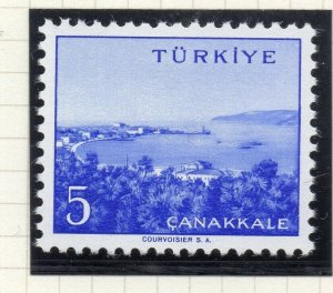 Turkey 1958-60 Early Issue Fine Mint Hinged 5p. NW-17516
