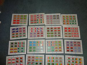 UNITED NATIONS FLAG SHEET COLLECTION, MNH, OG