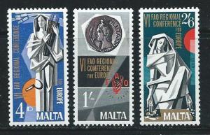 Malta 394-6 1968 FAO Conference set MNH