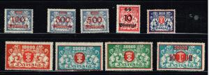 GERMANY STAMP DANZIG STAMPS COLLECTION LOT  #1