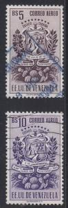 Venezuela Scott C381-2 Used (Catalog Value $22.75)