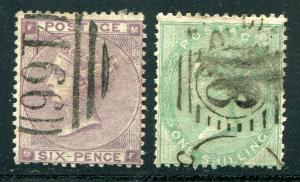Great Britain #27 and 28  Used F-VF