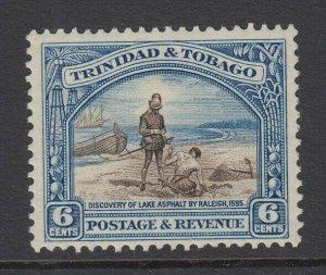 Trinidad & Tobago, Scott 37a (SG 233a), MHR