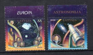 LATVIA - 2009 - EUROPA - ASTRONOMY -