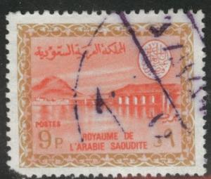 Saudi Arabia Scott 401 used 1960 stamp
