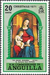 Anguilla # 132 mnh ~ 20¢ Christmas - Madonna and Child