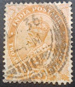 India Scott #100 1926 2a6p King George V F/VF Used