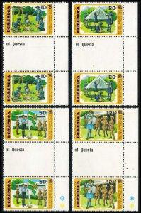 Dominica Scott 630-633 Mint never hinged.