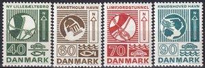 Denmark #509-12 F-VF Unused  (Z8141)