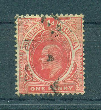Southern Nigeria sc# 33 used cat value $.70