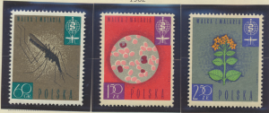 Poland Stamps Scott #1087 To 1089, Mint Lightly Hinged - Free U.S. Shipping, ...
