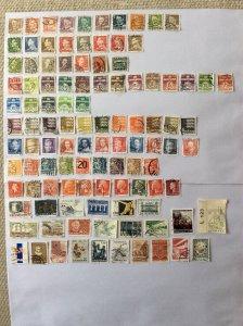 Denmark 100+ stamps - Lot H