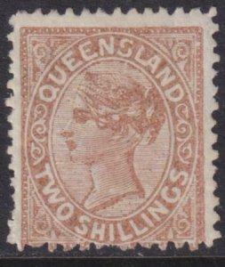 Australia - Queensland 1886 SC 86 MLH