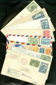EDW1949SELL : CANADA Collection of 8 Better Early First Day covers.