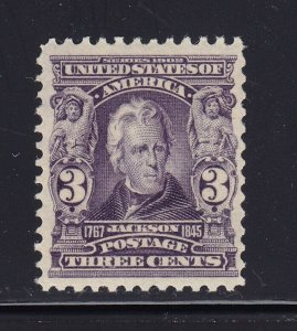 302 VF original gum mint never hinged nice color cv $ 140 ! see pic !